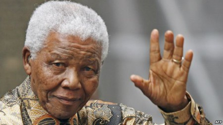 Nelson Mandela. Ảnh AFP