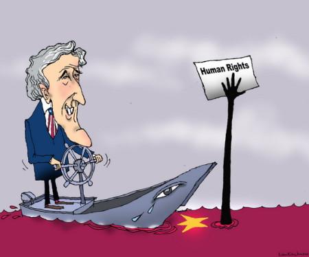John Kerry  trở lại Năm Căn