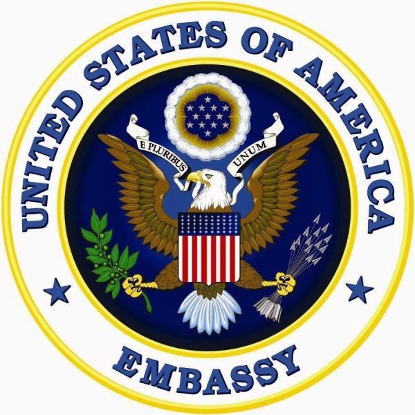 logo us ambassy