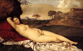 Vẻ đẹp phụ nữ thời Phụ hưng. Tranh Giorgione