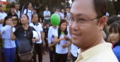 Nguyễn Anh Tuấn ngày hôm qua trước khi cướp Tuyên ngôn nhân quyền