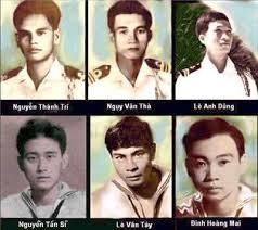 Một số trong 74 binh sĩ VNCH đã ngã xuống khi bảo vệ Hoàng Sa
