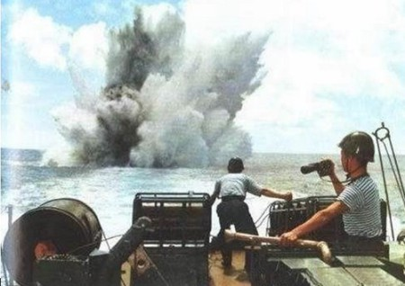 Hải chiến Hoàng Sa 1974 khai hỏa