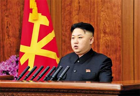 Kim Jong Un bộc lộ một sự thân thiện bất thường.