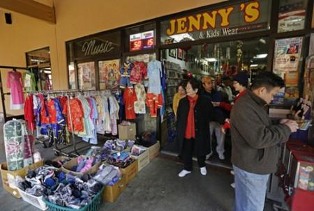 Cửa hàng Jennifer's Gift Shop - nơi anh Steve Tran mua được tấm vé độc đắc (Ảnh: AP)