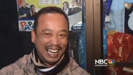 Ông Thuy Nguyen cũng vui mừng vì bán được tấm vé độc đắc.