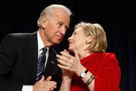 O7ng Joe Bieden và bà Hillary Clinton. Ảnh nytexaminer.com