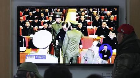 Hình ảnh ông Jang Song Thaek bị bắt giữ chính là điềm gở cho mối quan hệ Trung – Triều.