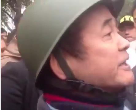 """""""Dư luận viên"""" Trần Nhật Quang. Ảnh lấy từ youtube."""