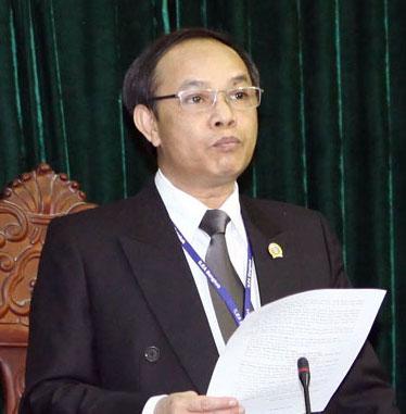 Thẩm phán Trương Việt Toàn - Ảnh: Doãn Tấn
