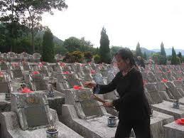 Nghĩa trang liệt sĩ trong cuộc chiến biên giới 1979