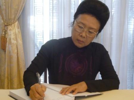 Bà Phan Lương Cầm.