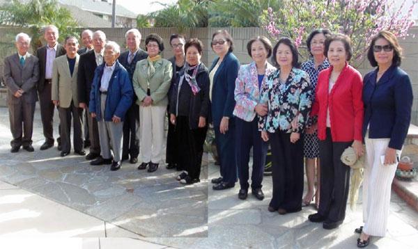 Đại hôi kỷ niệm 60 năm khoá Cương quyết Đà lạt 2014. Ảnh: tác giả cung cấp