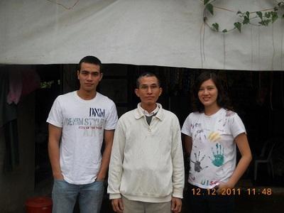 Ba cha con ông Huỳnh Ngọc Tuấn