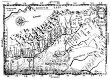 """Alexandre de Rhodes vẽ """"bản đồ Annam"""" [1651]"""