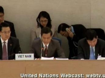 Phái đoàn VN tại Geneve