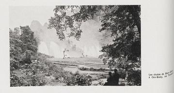 Hình 11: Các thác Bản Giốc ở Cao Bằng – Bắc Kỳ (Les chutes de Ban-Gioc à Cao-Bang, au Tonkin)