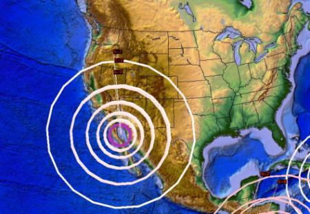 Động đất ở miền Tây Hoa Kỳ