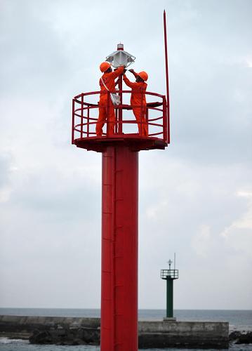 Ngọn hải đăng do Trung Quốc dựng phi pháp ở Hoàng Sa - Ảnh: Gov.cn