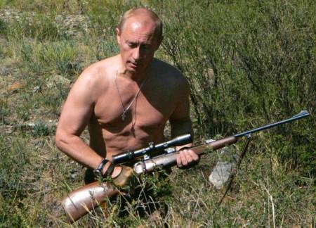 Putin trong 1 lần đi săn