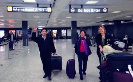 Ông Cù Huy Hà Vũ sang đến Mỹ từ nhà tù Việt Nam