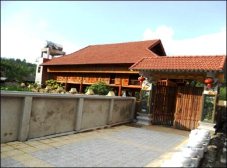 Nhà của chủ tịch UBND Hà Giang Đàm Văn Bông