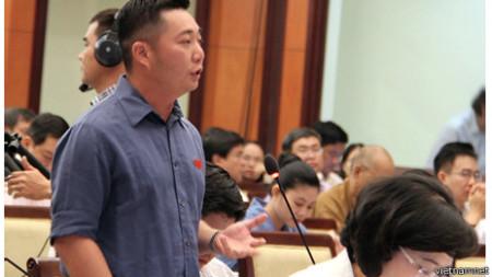 Ông Lê Trương Hải Hiếu hiện đang là lãnh đạo một quận trung tâm Thành phố Hồ Chí Minh