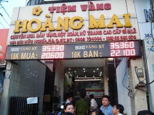 tiem-vang-Hoang-Mai