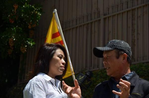 Có nhiều đài truyền hình của Hoa Kỳ cũng như của người Việt Hải Ngoại có mặt đưa tin.