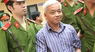 Ông Nguyễn Đức Kiên trước tòa. Ảnh VietNamNet