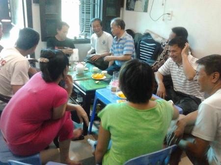 Sai khi tới thăm blogger Nguyễn Tường Thụy thì 3 mẹ con bị tấn công