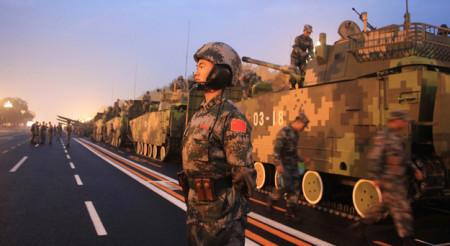 Quân đội TQ. Ảnh mang tính minh họa