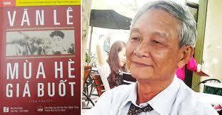 Nhà thơ Văn Lê. Ảnh nhavantphcm.com.vn