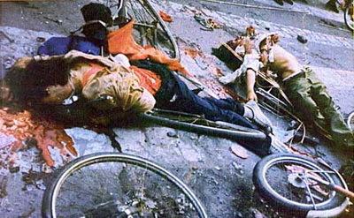 Hình ảnh ở Thiên An Môn 4/6/1989