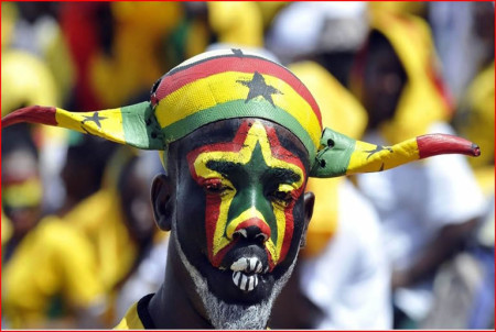 Fan của Ghana