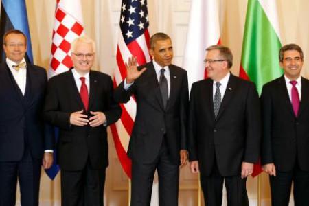 Obama ở Warsaw nhận dịp 25 Ba Lan tự do. Ảnh www.euractiv.com