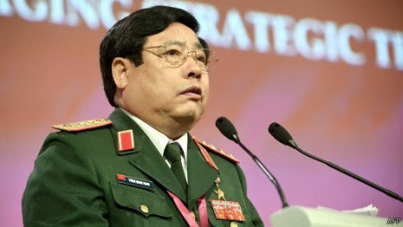 Tướng Thanh tại Shangri-La. Ảnh: internet.