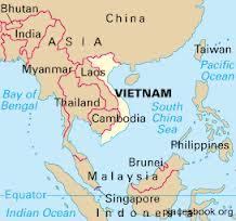 Bản đồ Việt Nam ngày nay