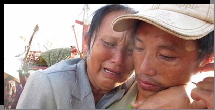 Ngày về đẫm lệ của ngư dân bị Trung Quốc bắt  (Nguồn: Một Thế Giới)