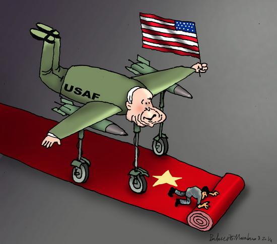 McCain đến Hà Nội