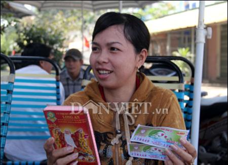 Chị Phạm Thị Lành. Ảnh: Dân Việt