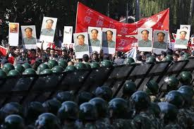 Biểu tình trước Sứ quán Nhật tại Bắc Kinh