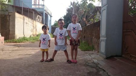 3 con của anh Lê Hùng Anh