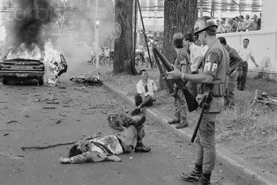 Bộ Trưởng Giáo Dục Lê Minh Trí bị ám sát năm 1969. Ảnh: Minh Đức