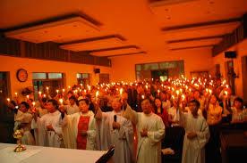 Công giáo VN trong những năm qua có nhiều hoạt động thắp nến cầu nguyện cho những tù nhân lương tâm. Ảnh mang tính minh họa
