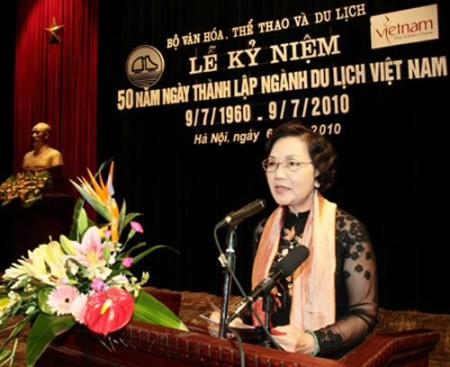 Bà Võ Thị Thắng trong vai trò đại biểu Quốc hội.  Ảnh và chú thích của vnexpress