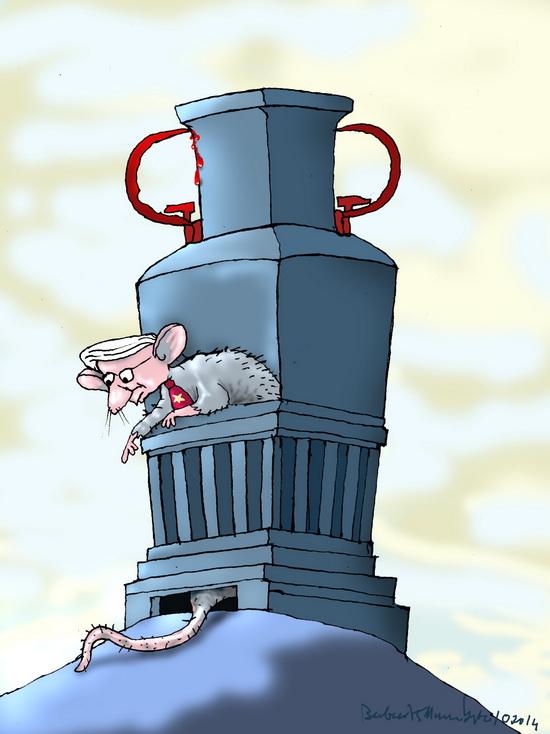 Coi chừng ném chuột vỡ bình
