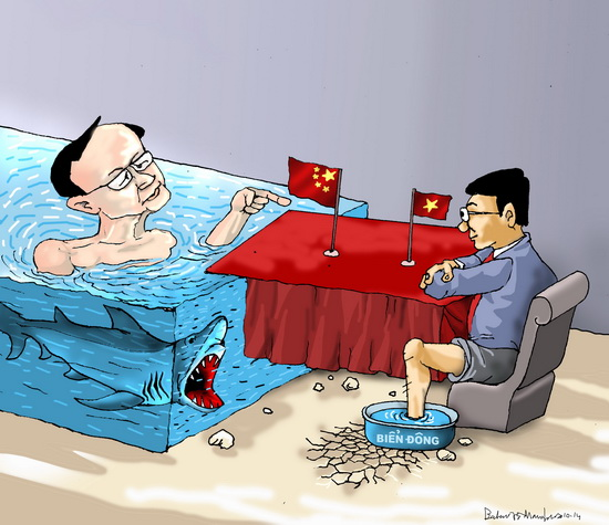 Việt Trung đàm phán trên biển Đông