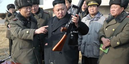 Kim không ngại dùng súng