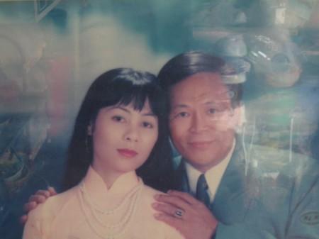 Vợ chồng ông Phan Văn Thu. Ảnh do nhân vật cung cấp